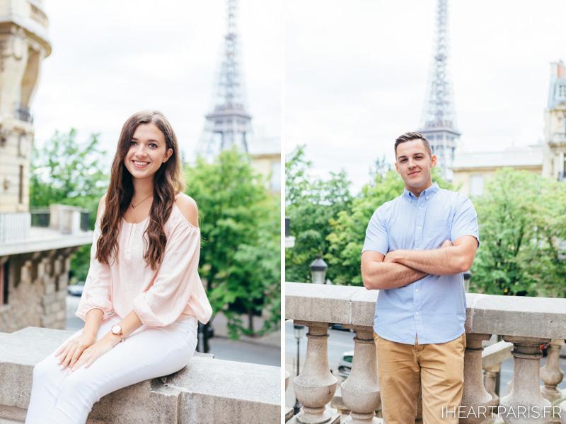 Paris Photographer, Couple Photoshoot, portrait, Eiffel Tower, iheartparisfr