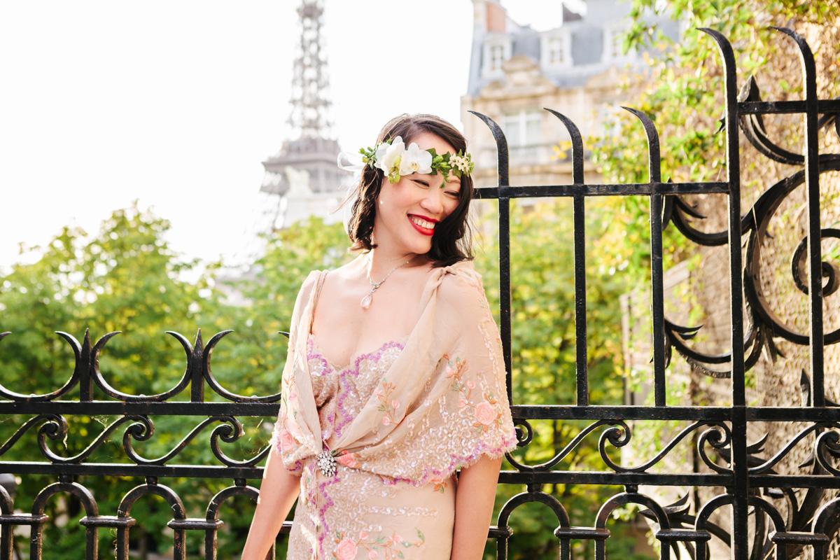 Paris Photographer Eiffel Tower Birthday personal branding IheartParisfr