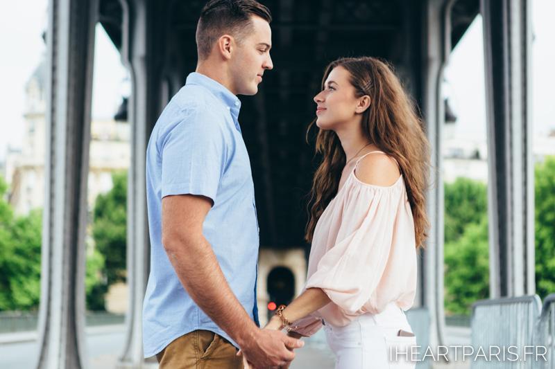 Photographer in Paris, Couple Photoshoot, Bir Hakeim, iheartparisfr