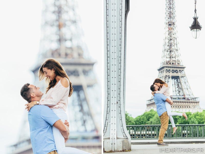 Photographer in Paris, Couple Photoshoot, Love, Bir Hakeim, Eiffel Tower, iheartparisfr