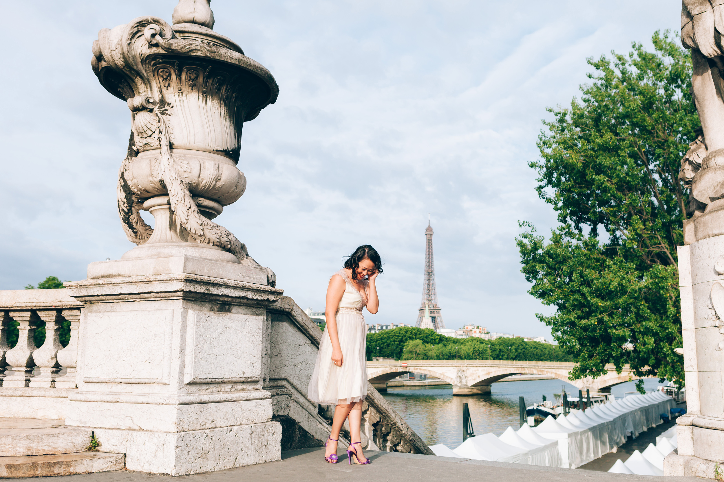Photographer in Paris, Alexander 3 bridge, Birthday, personal branding, IheartParisfr