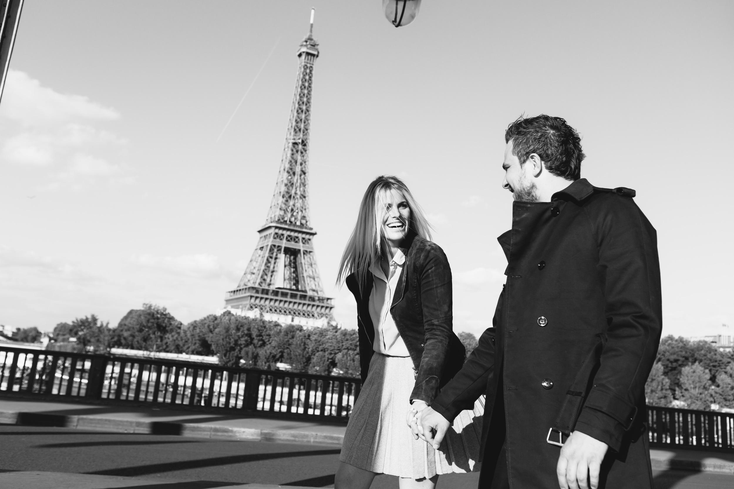 Photographer in Paris, Surprise Proposal, Eiffel Tower, Engagement, Bir Hakeim, Iheartparisfr
