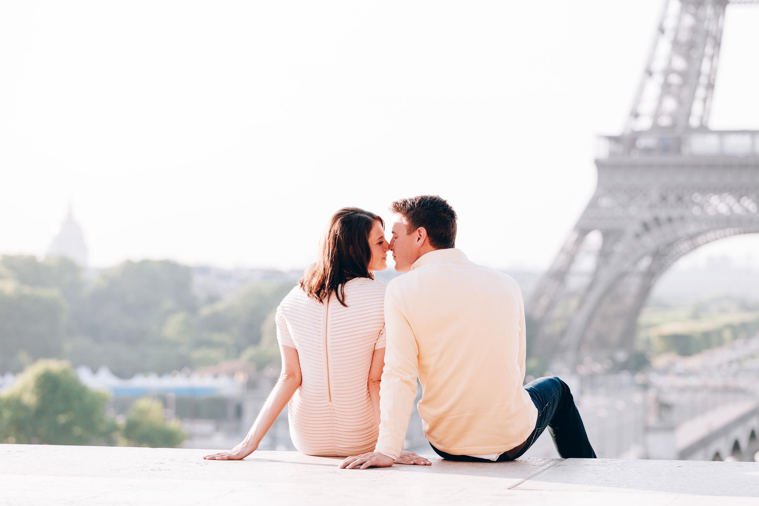 Photographer in Paris, Eiffel Tower, Kiss, Love, Surprise Proposal, Iheartparisfr