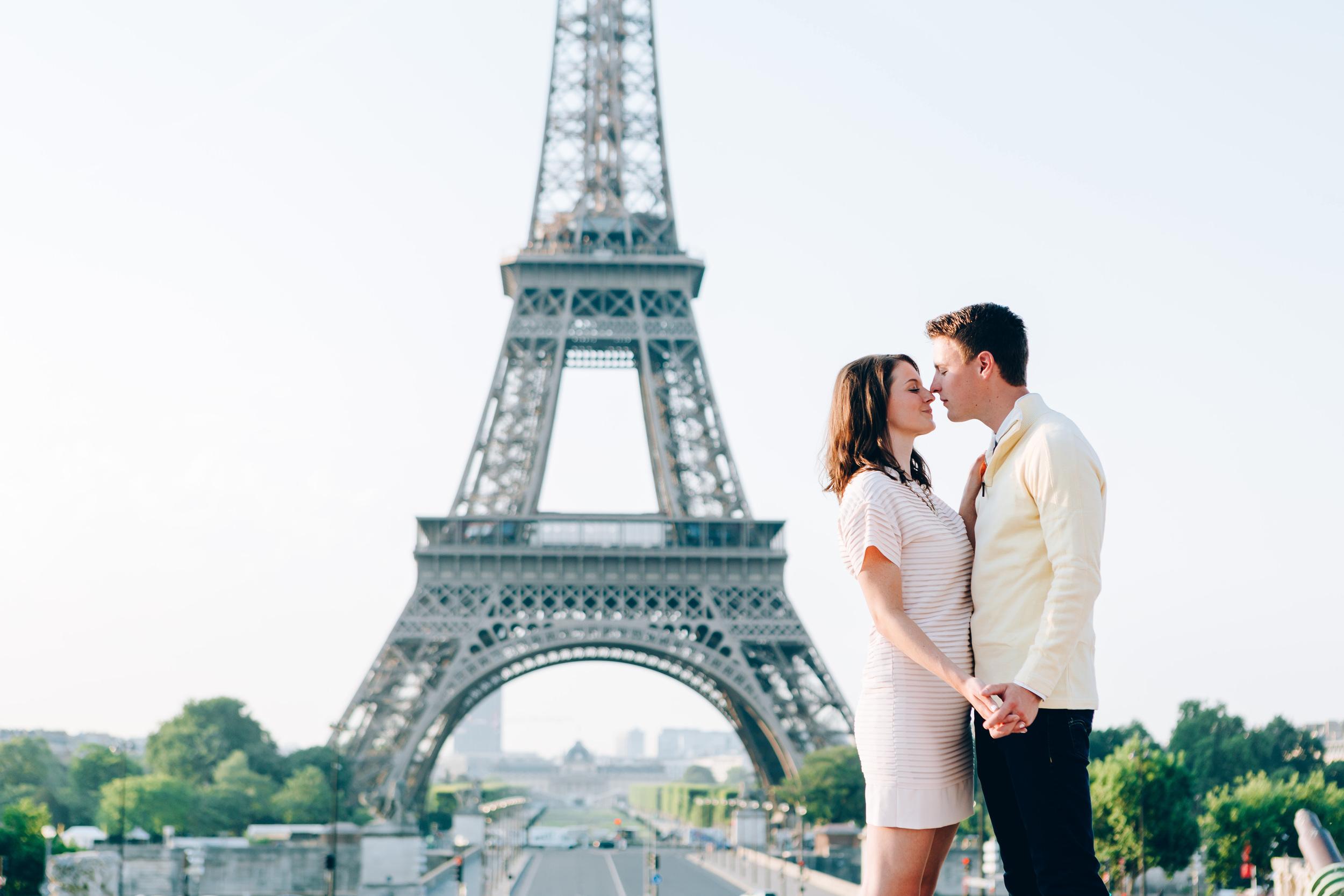 Paris Photographer, Eiffel Tower, Trocadero, Surprise Proposal, Iheartparisfr