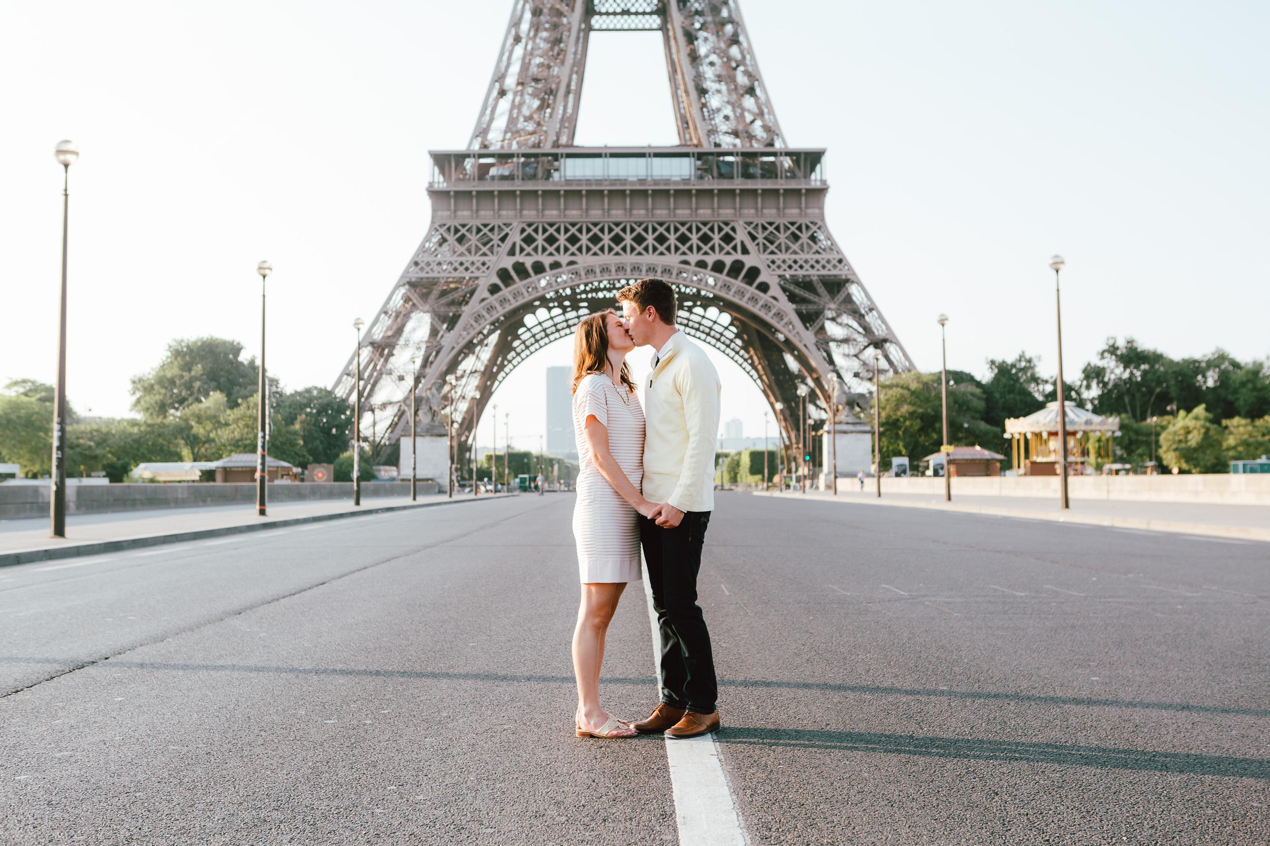 Paris Photographer, Tour Eiffel, Kiss, Love, Surprise Proposal, Iheartparisfr