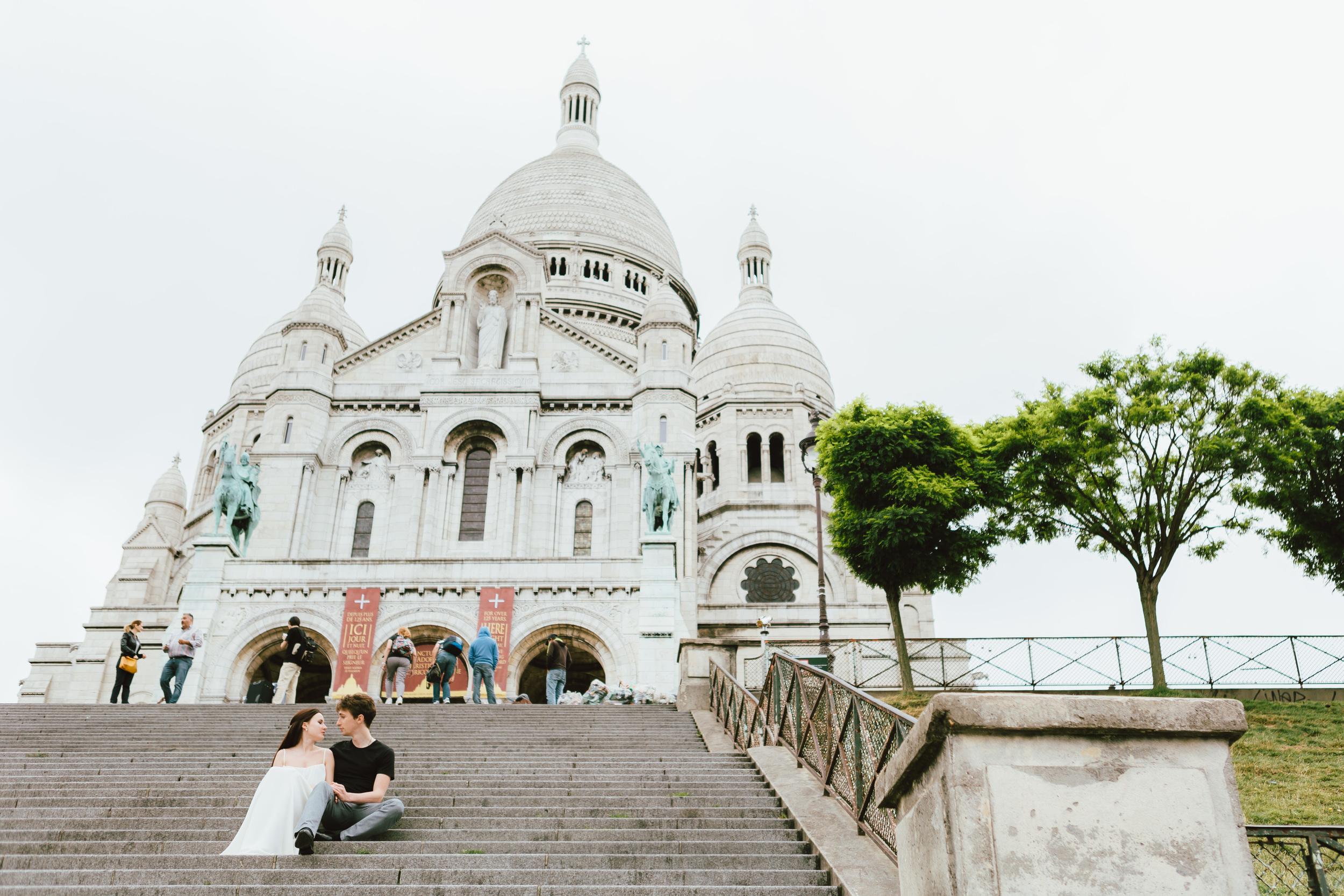 Paris Photographer, Montmartre, Lovestory, France, sacre coeur, iheartparisfr