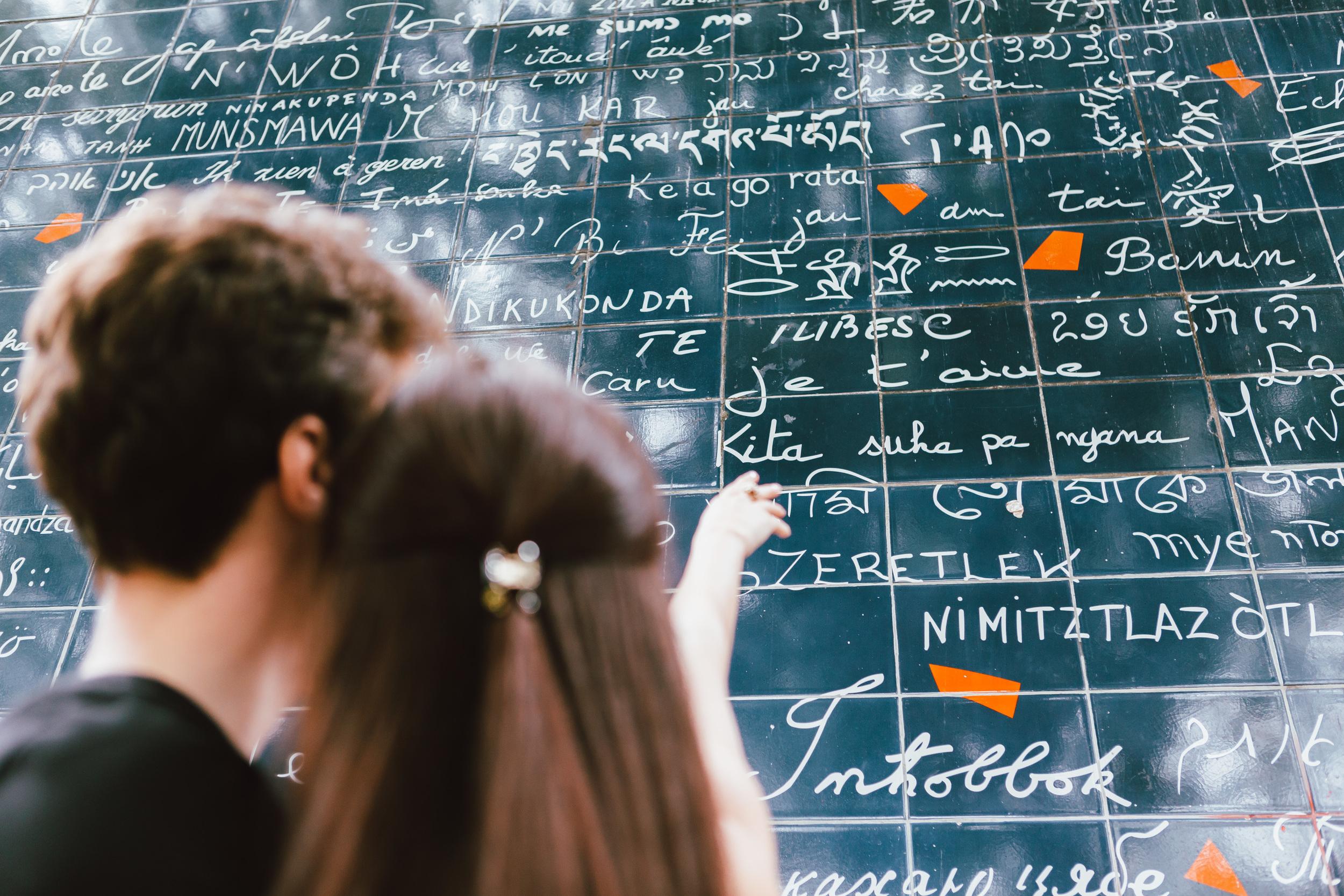 Photographer in Paris, Montmartre, Lovestory, Love wall, iheartparisfr