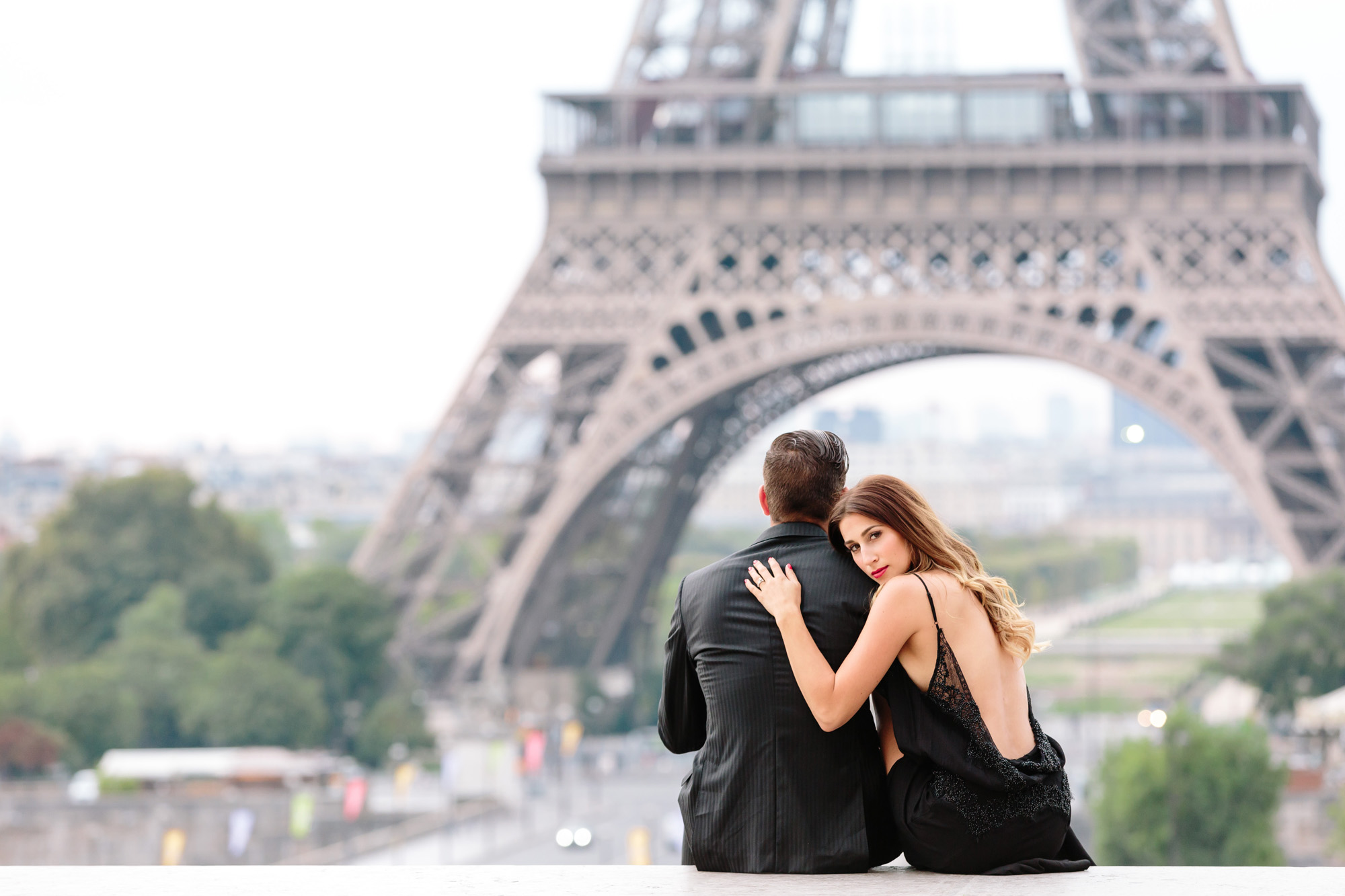 Paris Photographer Travel Lovestory Eiffel Tower Trocadero IheartParisfr