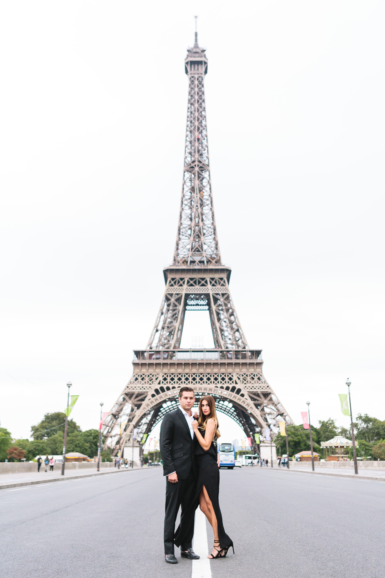 Paris Photographer Couple Sesssion Travel Lovestory Eiffel Tower Pont Iena IheartParisfr