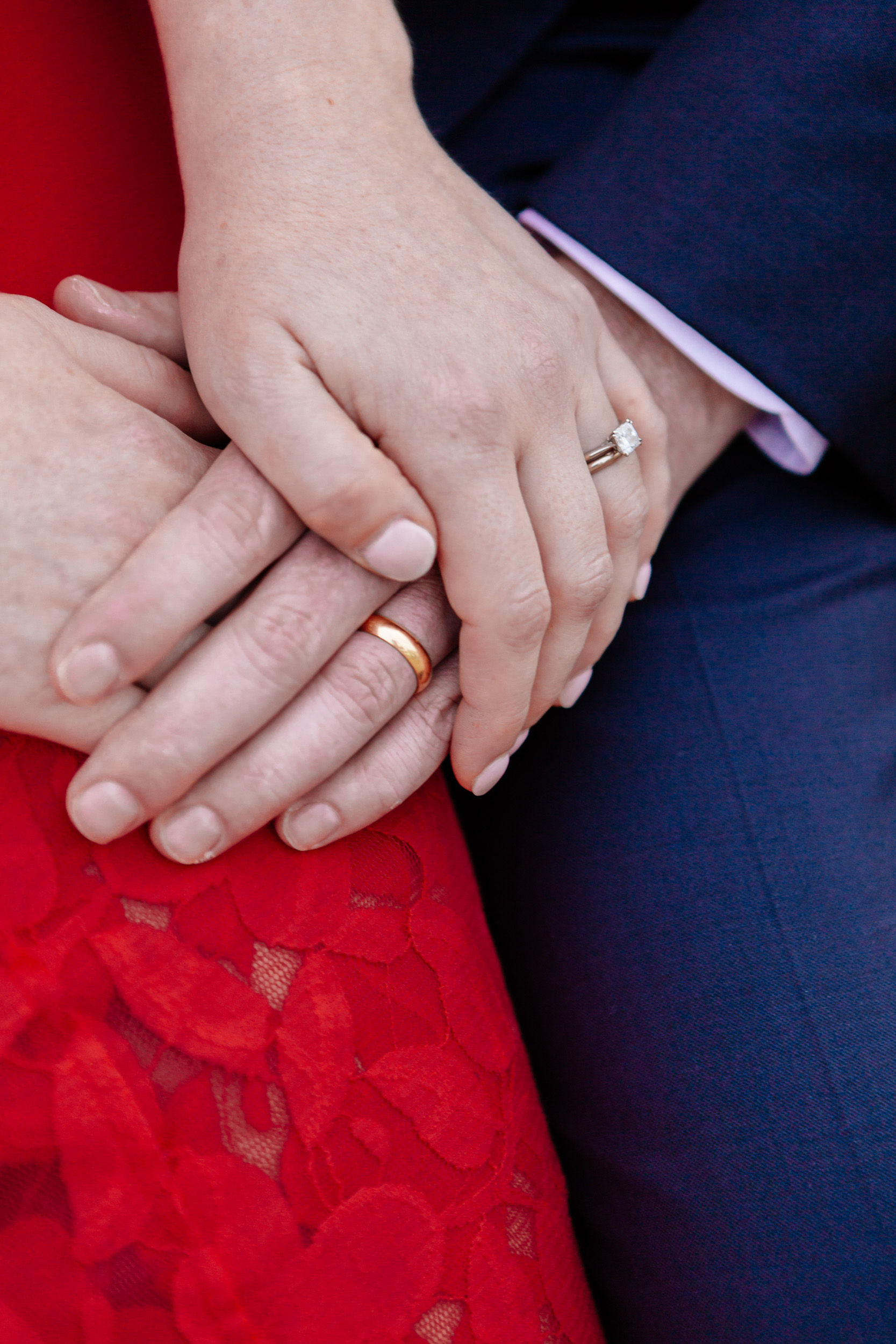 Details of a couple holding hands captured by Paris Photographer Federico Guendel www.iheartparis.fr