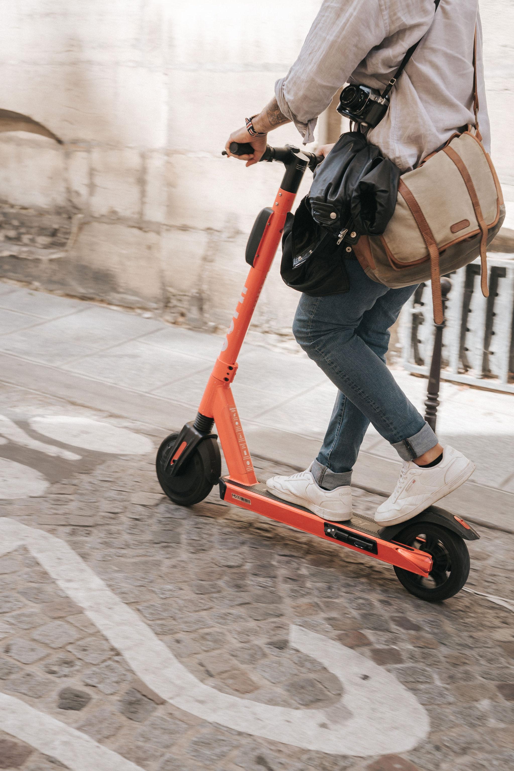Me riding a Jump in Paris IheartParisfr.jpg