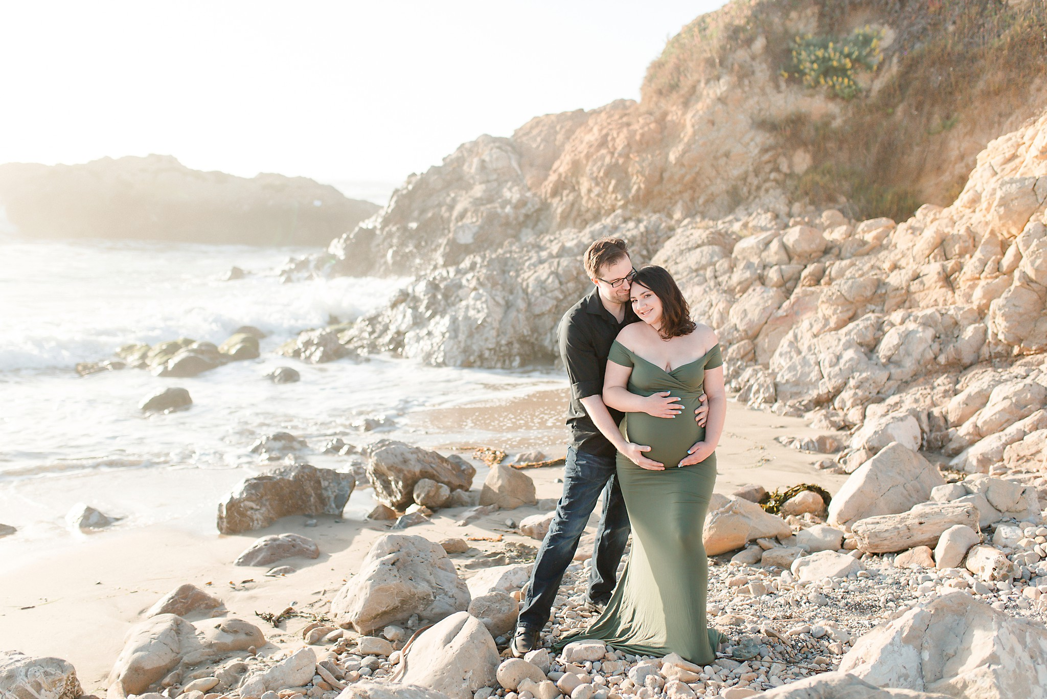 Pescadaro State Beach Maternity Session_0004.jpg