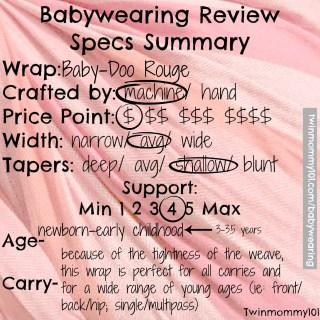 babydoo rouge summary