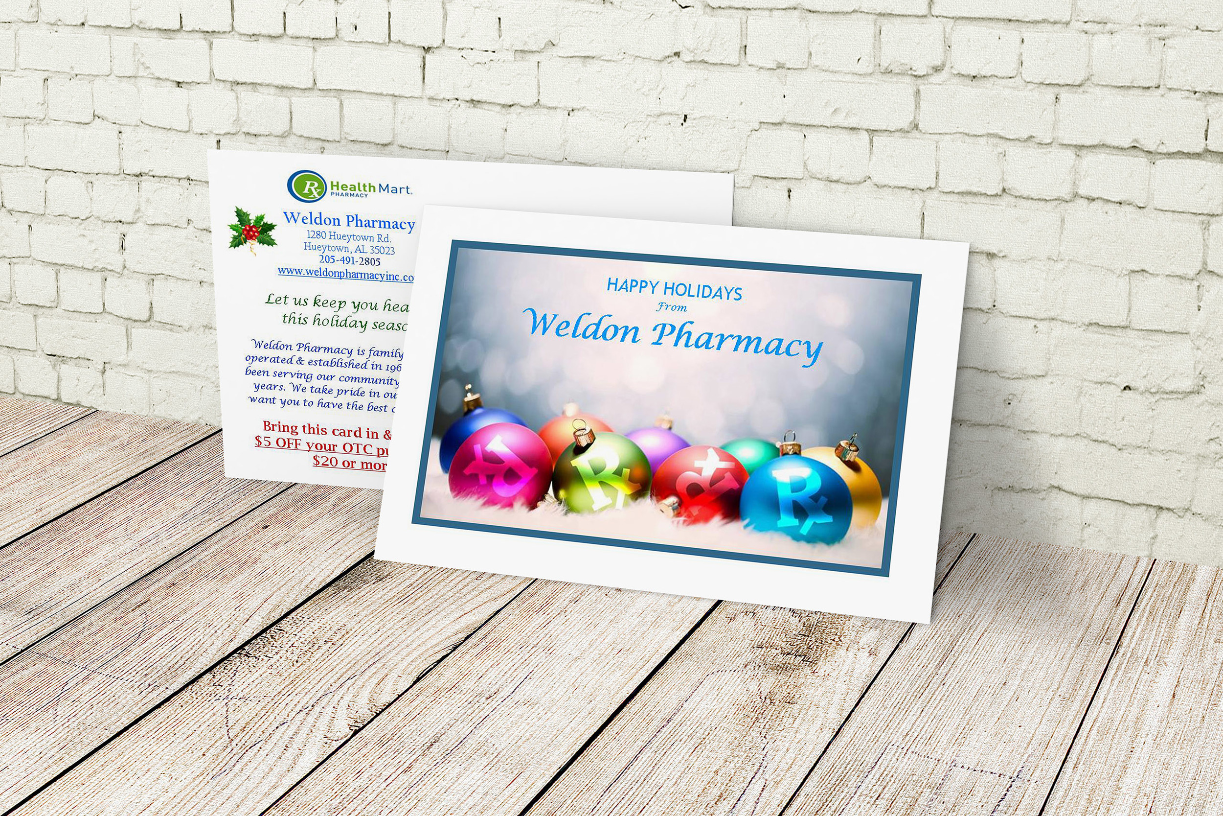 Holiday Direct mail