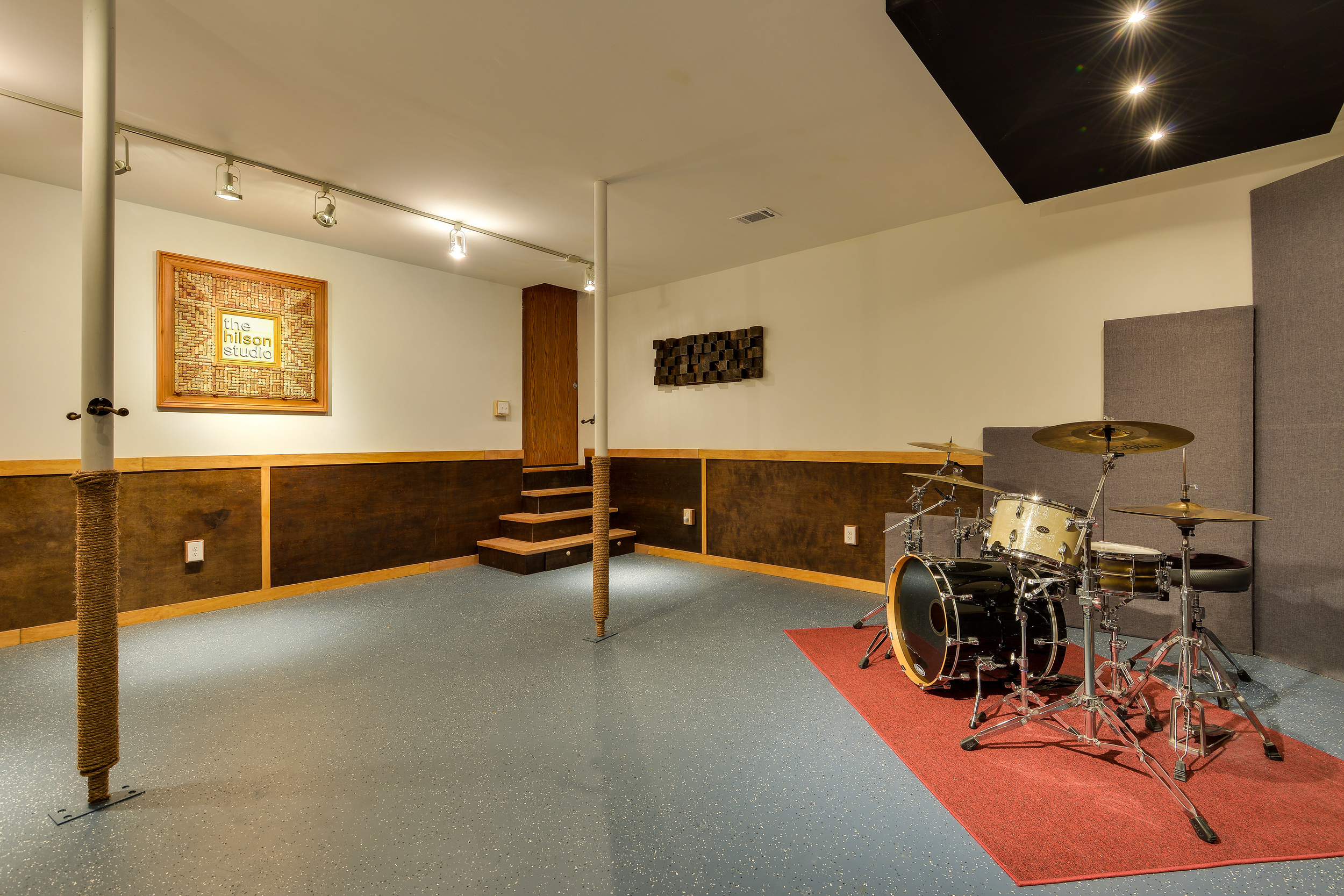 Our drum room