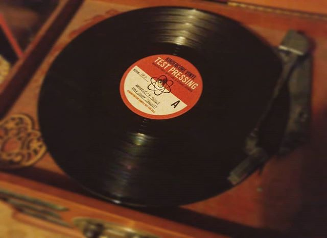First project I've done that went to vinyl. Pretty fun getting to listen on a physical medium! . . .  #Analog #vinyl #record #recording #newmusic #Nashville #original #originalmusic #recordplayer #neat