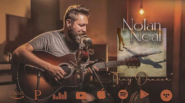 New song out that we captured during the Great live video session a while back with the talented @nolanneal. Got to check it out, link in his bio. . . Credit to from @nolanneal (@get_regrann) -  New single available now on all digital formats! ~ Link in bio #TinyDancer #eltonjohn #rocketman🚀 #almostfamous #acousticcover #livemusic  #tayloracoustic #taylorguitars #unplugged #TheVoice #TeamAdam #hilsonstudio #nashvillelivemusic - #regrann