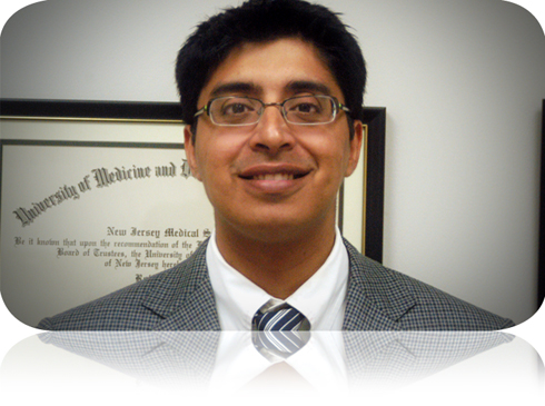 Dr. Keswani completed his undergraduate training at Boston University and received his MD from New Jersey Medical School, as part of the seven year BA/MD program. He subsequently completed his internship in Internal Medicine at Mountainside Hospital in Montclair, NJ and his residency training in Physical Medicine and Rehabilitation at UMDNJ and the Kessler Institute for Rehabilitation. His areas of interest include pain management, spasticity management, electrodiagnostic testing and geriatric rehabilitation. He is board certified by the American Board of Physical Medicine and Rehabilitation. He also currently serves as Chief of the Division of Rehabilitation Medicine at Mountainside Hospital and is a Clinical Assistant Professor in the Department of Physical Medicine and Rehabilitation at UMDNJ-New Jersey Medical School.