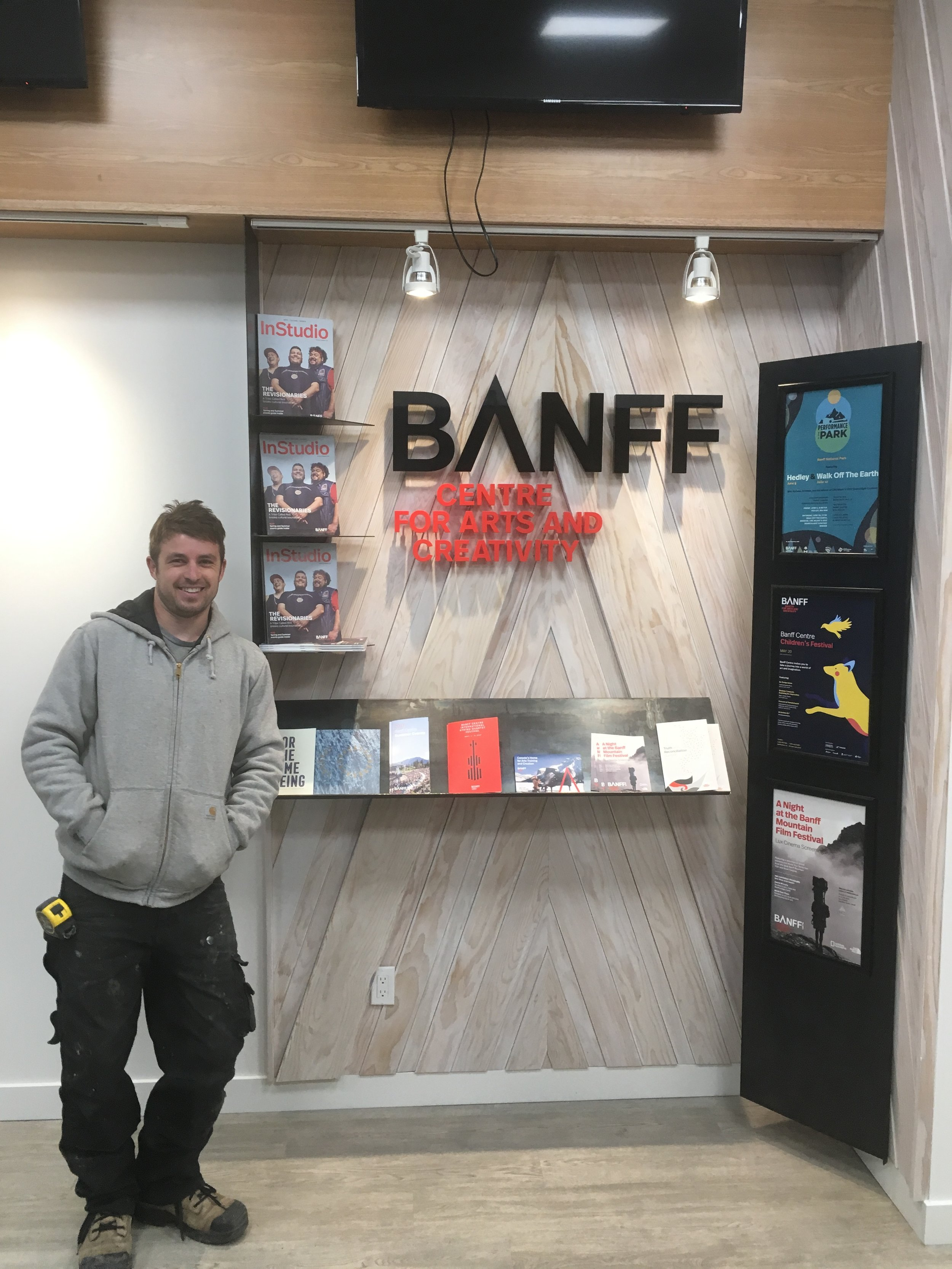 Banff Centre DBT Store Display - May 2017