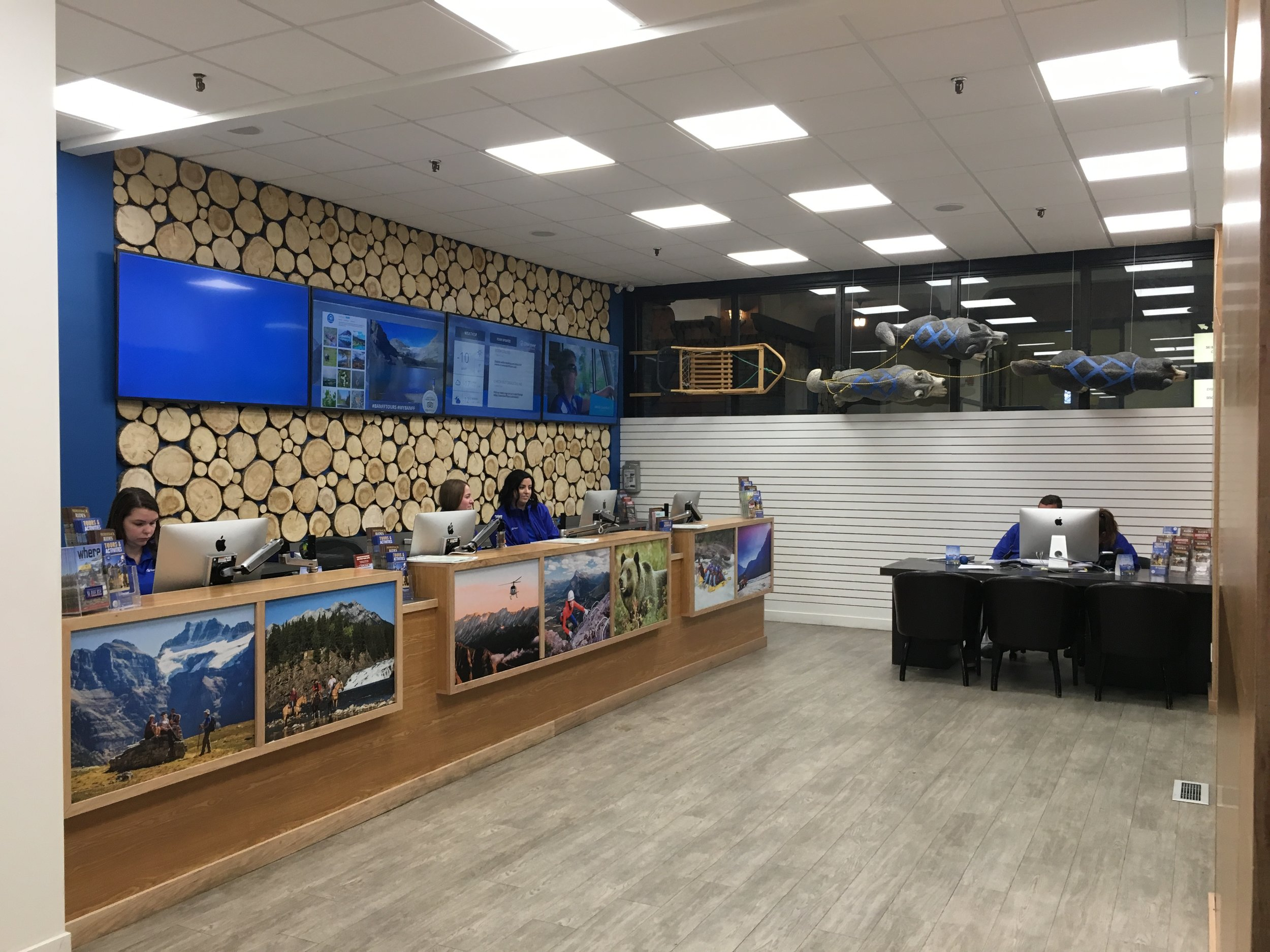 Discover Banff Tours - Retail Store April 2017