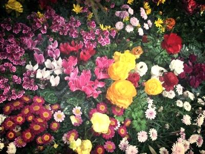 Flower bed installation