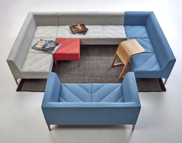 Naughtone Hatch Modular Lounge