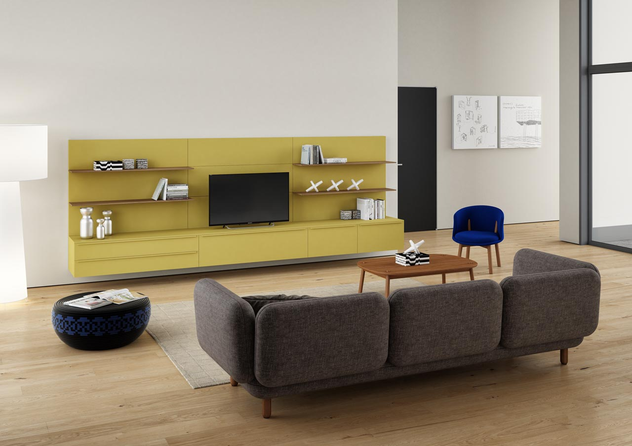 Haworth Collection Hobo Sofa by Cappellini - 3 Seater
