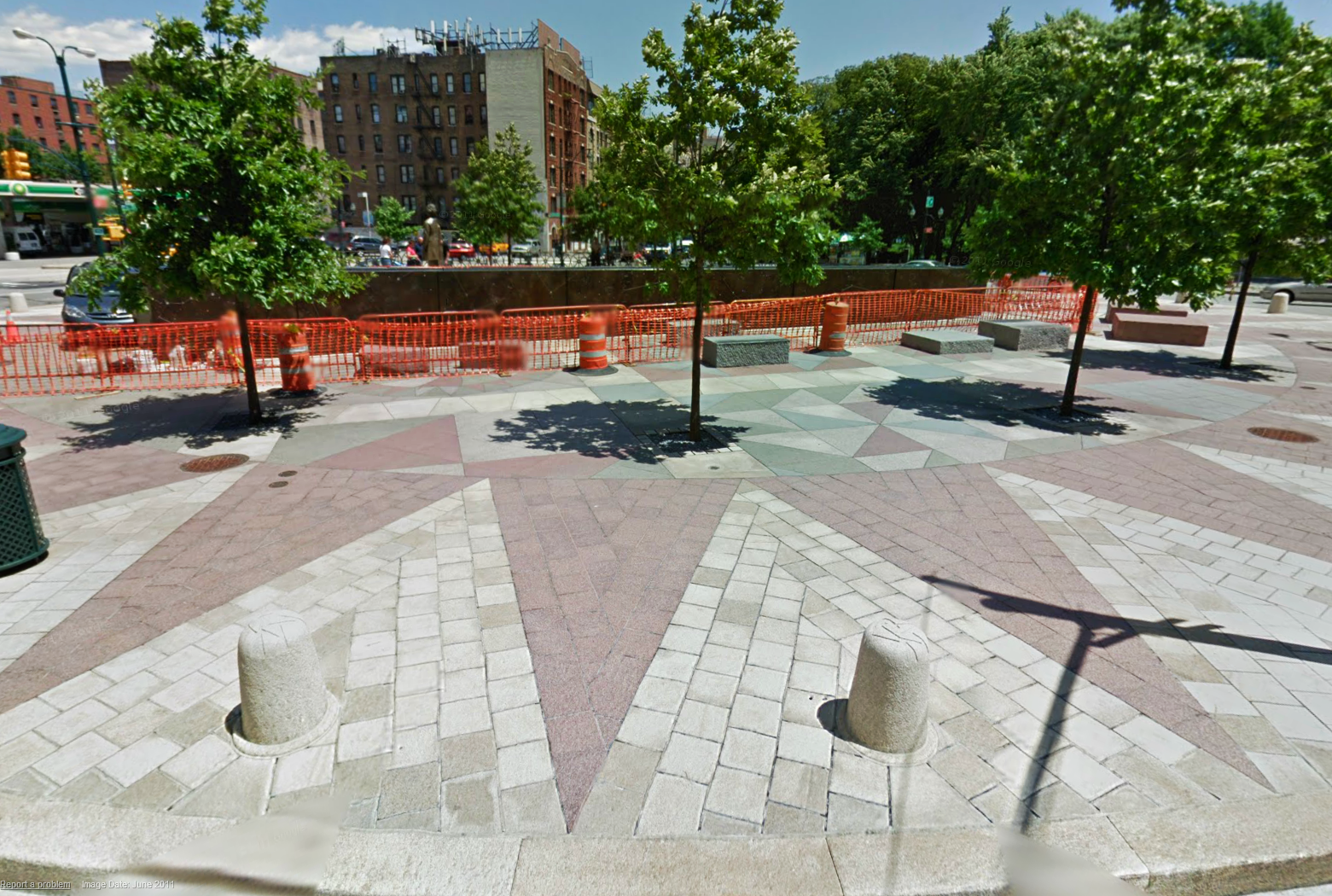 Frederick Douglass Circle, Manhattan NY