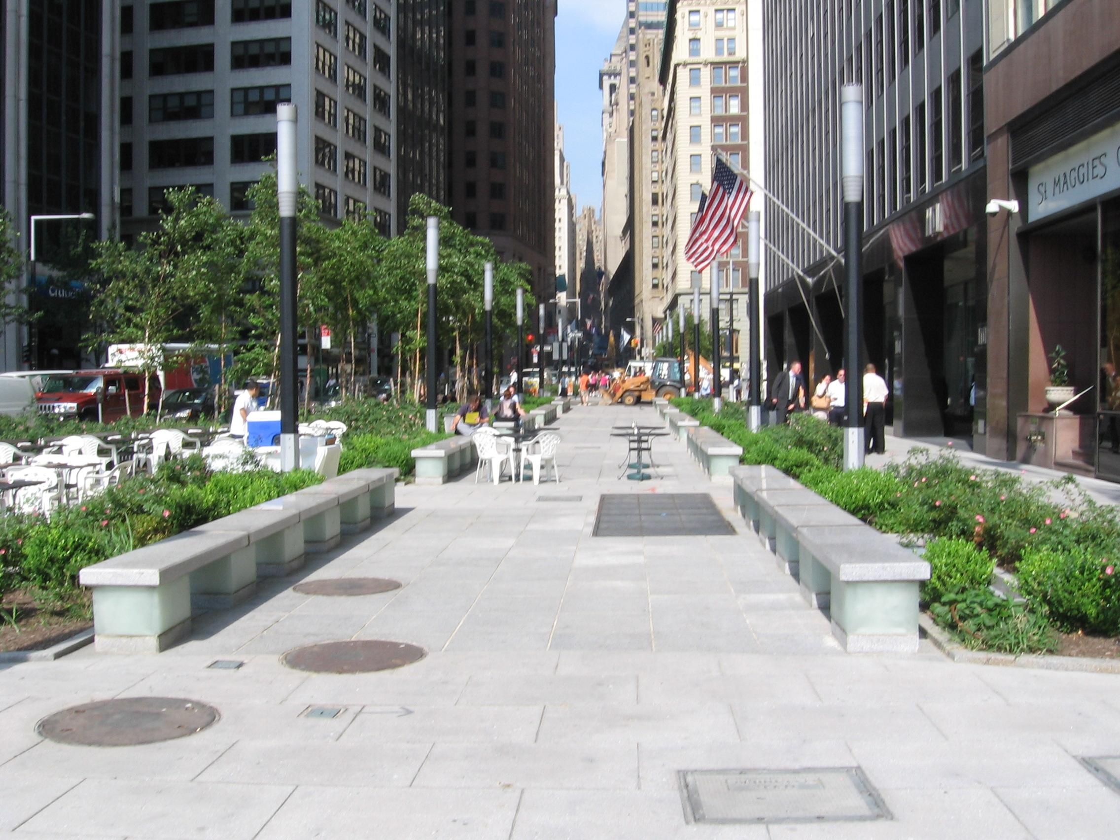 Wall Street Park, Manhattan NY