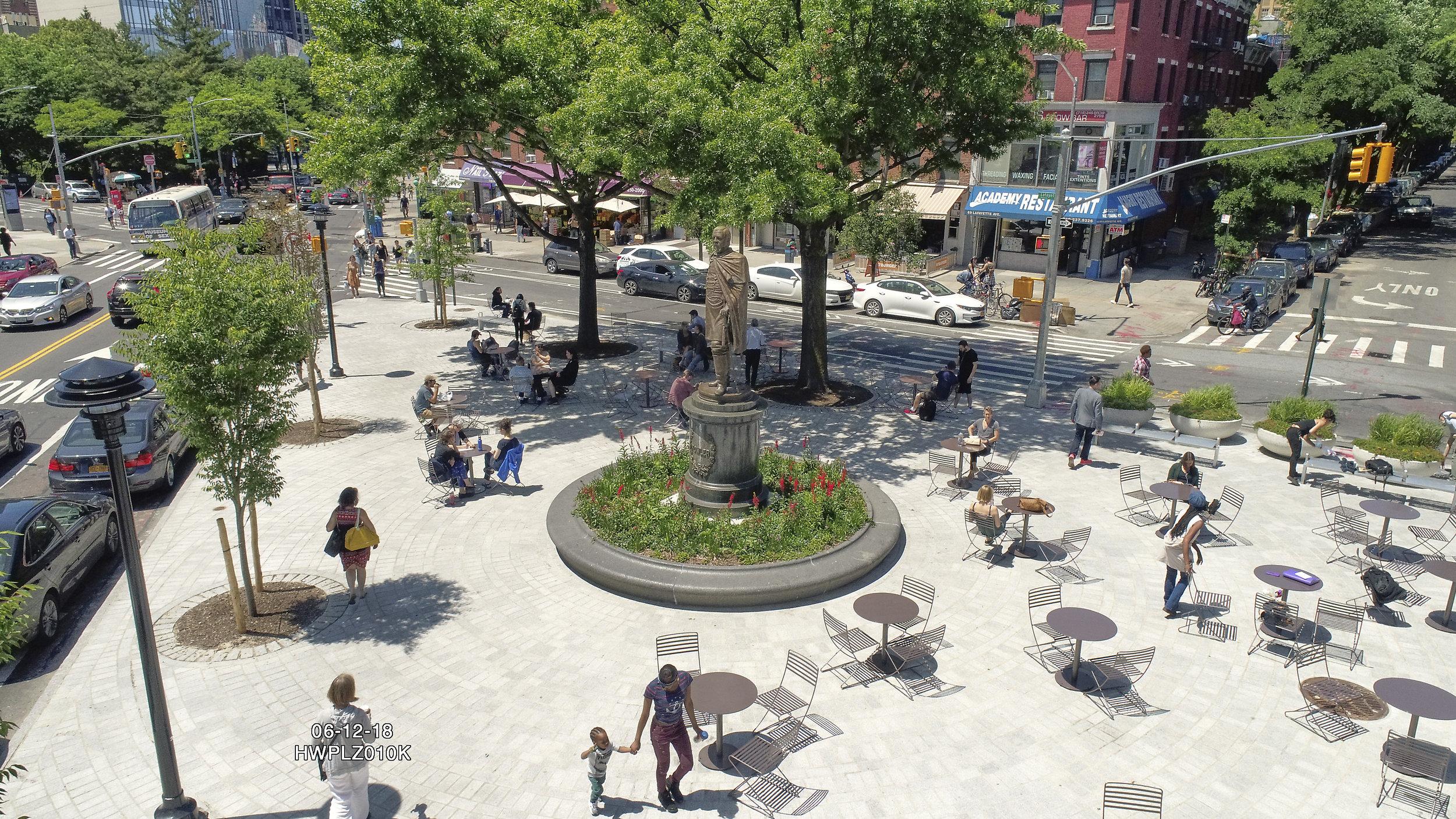 Fowler Square Plaza, Brooklyn NY