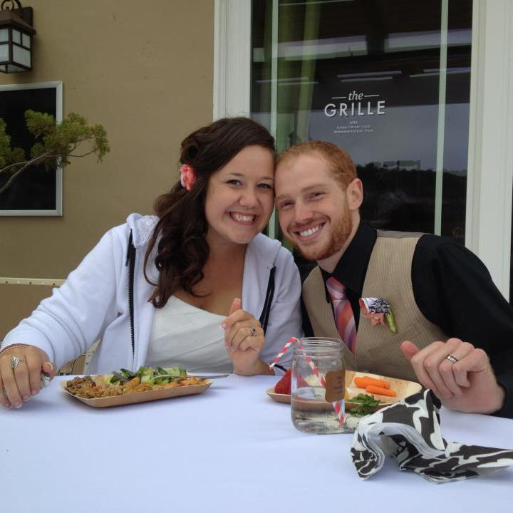 Ian and I on our wedding day!