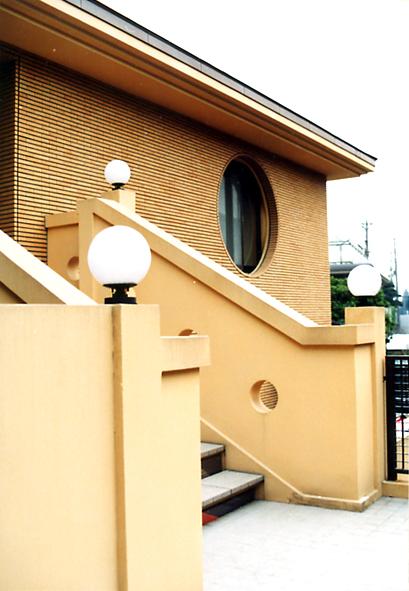 田園調布の家階段.jpg