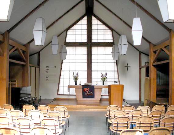 ドイツ語福音教会改修
