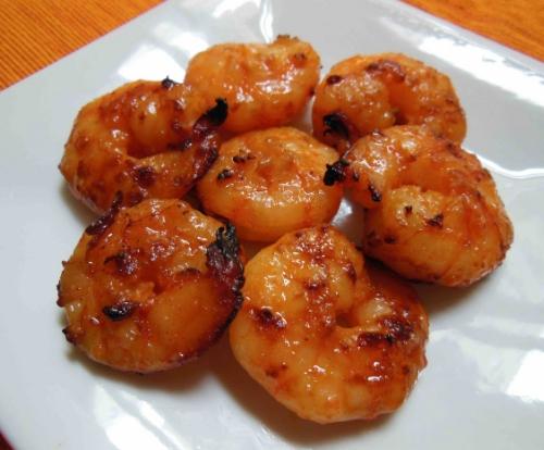Shrimp Miso Chile Butter