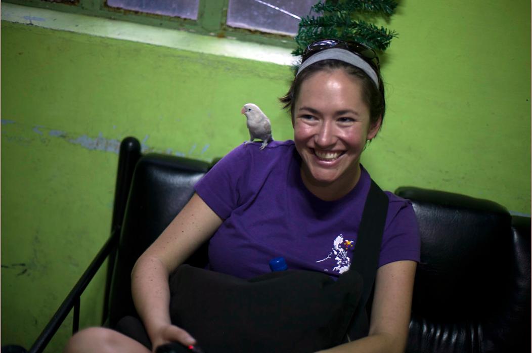 Jessica with Bird-Bird