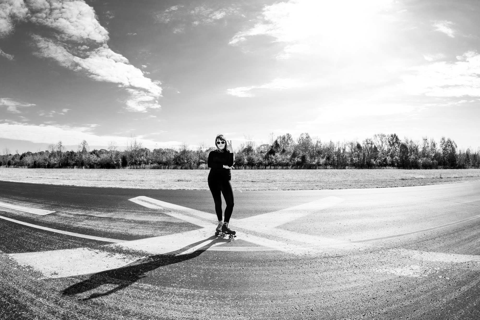 Sarah Gavigan knows one speed: fast. All photos in this story by the awesome  Andrea Behrends .