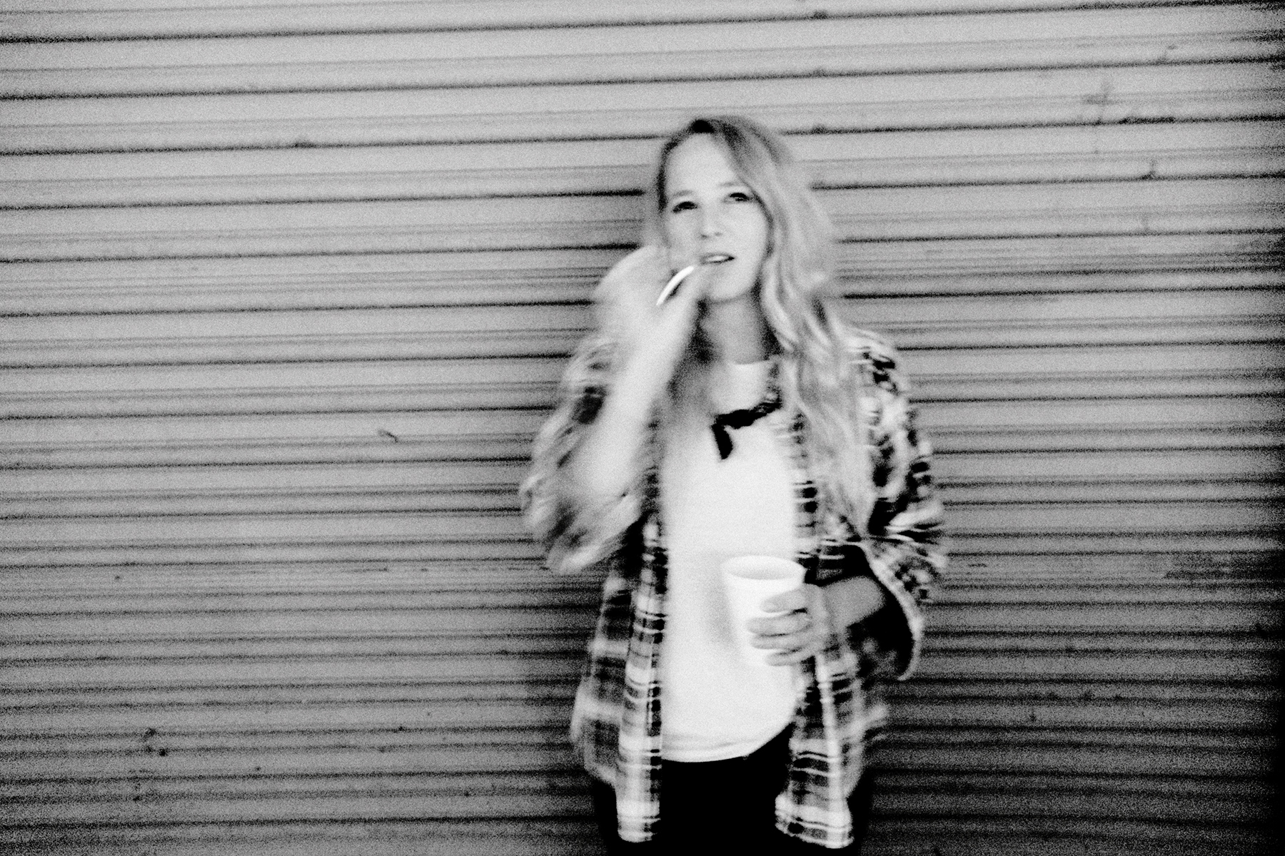 Lissie in the Alley at 3rd & Lindsley