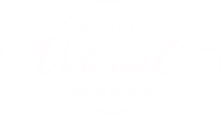 Beauty By Victoria C Makeup Artistry - Circle Logo - WHITE.png