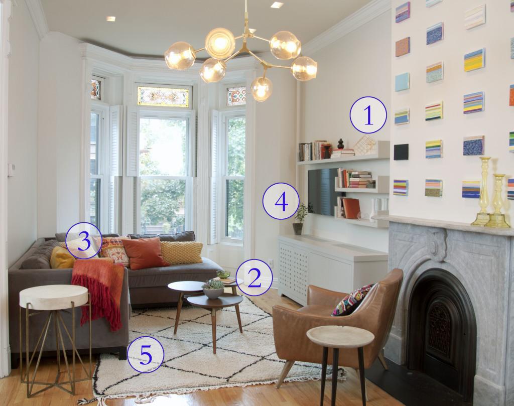 livingroom numbered