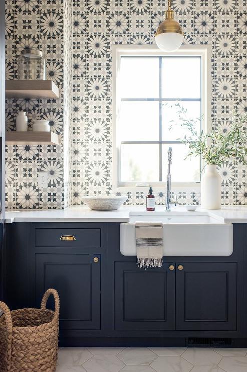 Anna Sacks Eastern Promise Tiles Blue