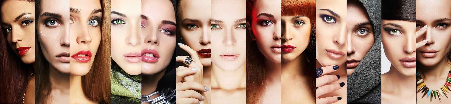 Different Faces of Different Woman