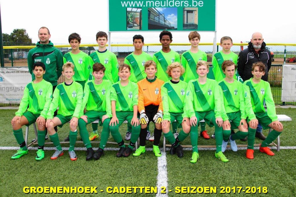 Cadetten 1 - U15A