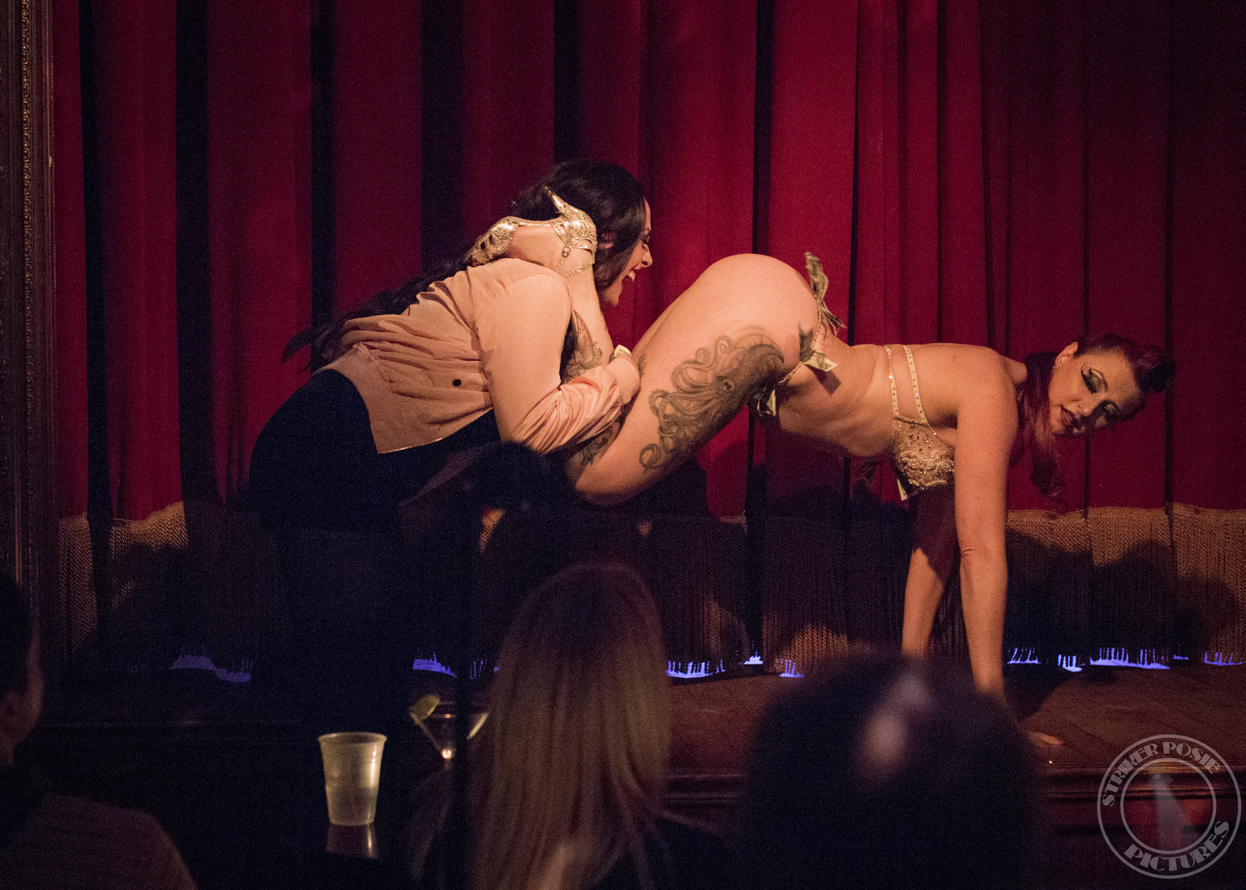 Nina La Voix at The Slipper Room, November 2016