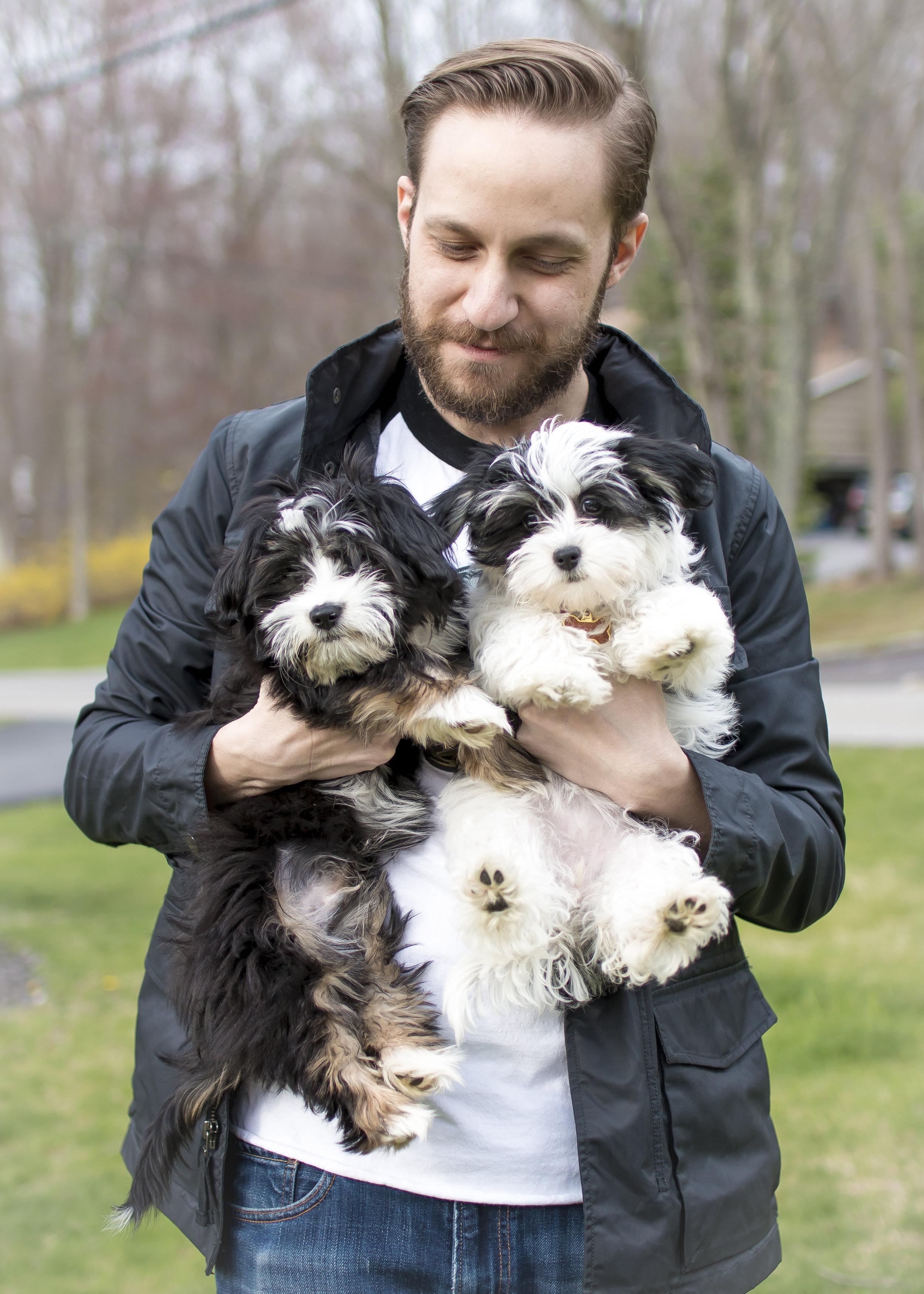 Noah, Brie, and Porter, April 2017