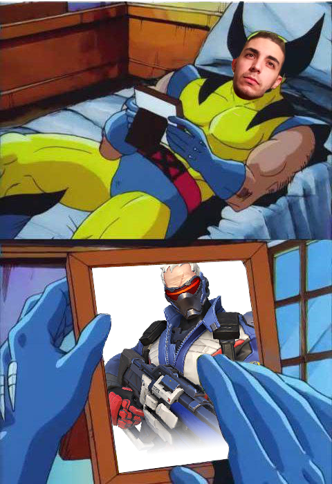 Artist's interpretation of Bromas' reaction to Soldier's Meta Position