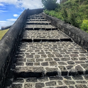 Uphill Climb to the Fort