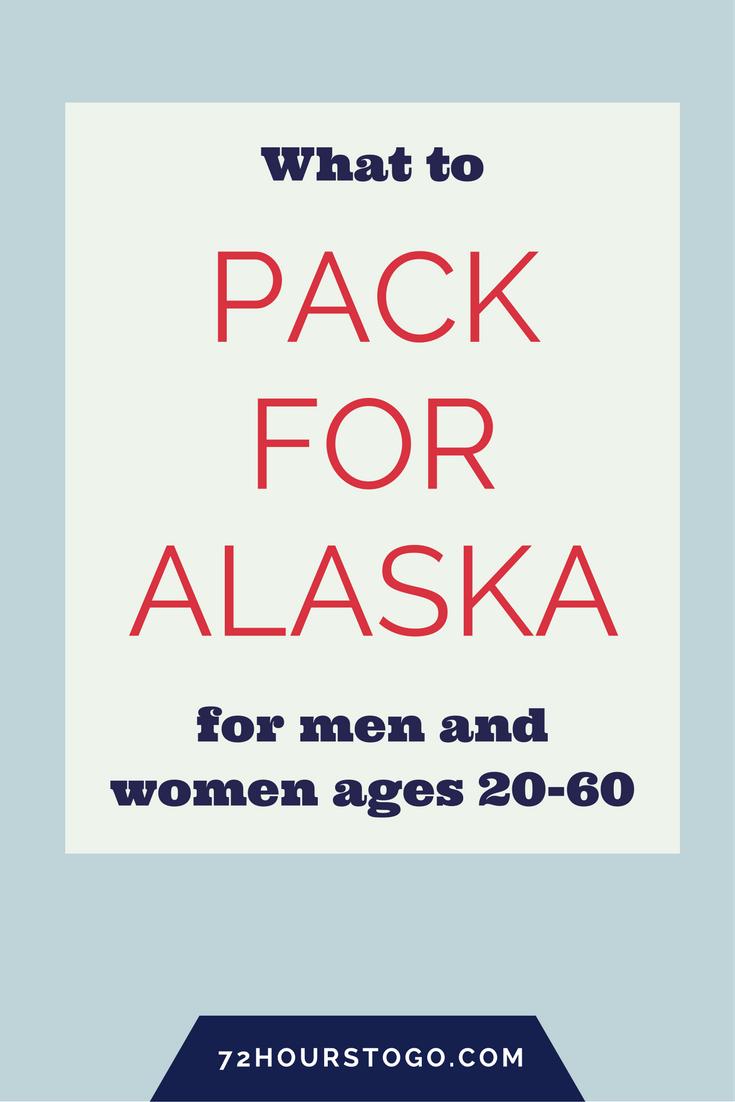 pack for alaska
