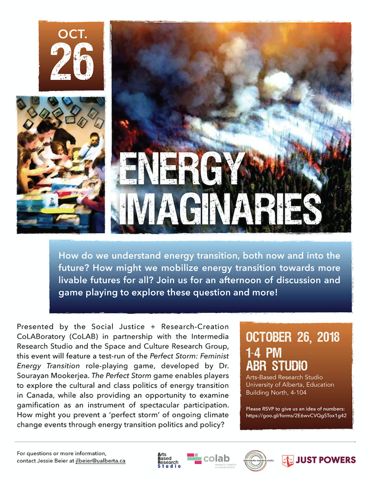 Energy Imaginaries Poster