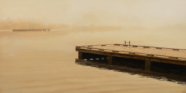 Fog Variations: Fishing Dock