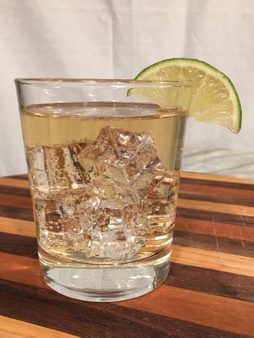 Ginger Rush - Ingredients:·1.5 oz. Lass & Lions Rush Vodka·4oz. ginger aleCraft:Use a rocks glass. Combine ingredients and stir.Garnish with lime.